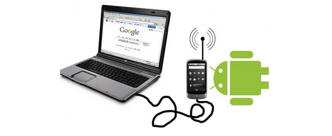 Android come modem per pc