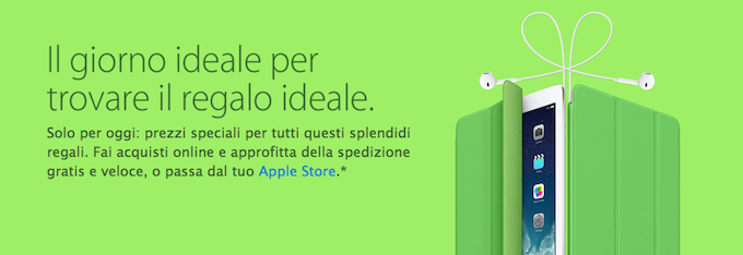 Apple Store Italia ufficiale iPhone 5s iPhone 5c iPad Air MacBook Pro e tanto altro 2 Apple, è Black Friday anche per lItalia