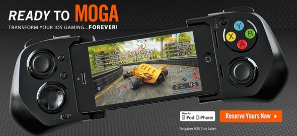 MOGA ACE POWER controller iOS 7