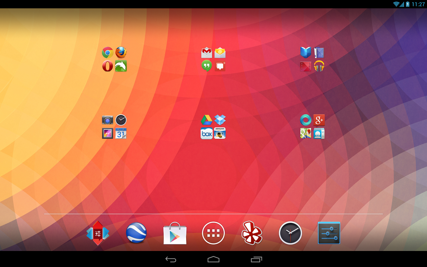 Nova Launcher beta KitKat