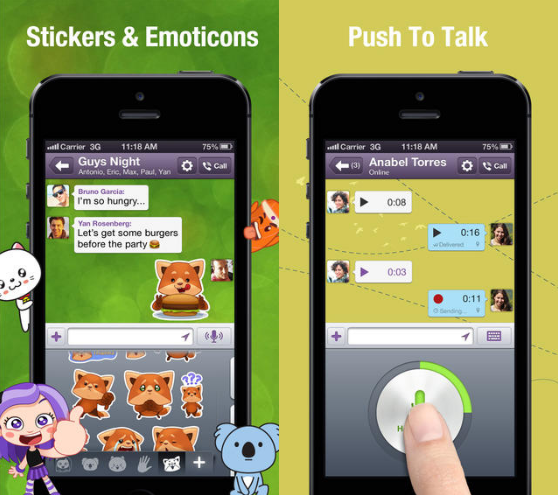 Viber 4.0 iOS Android