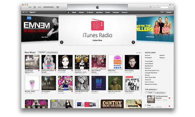 iTunes 11.1.3 Scaricare iTunes 11.1.3 per OS X e Windows
