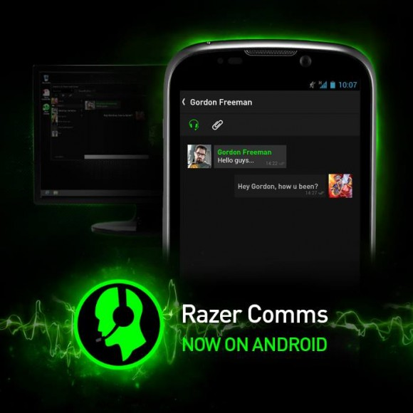 Razer Comms Android