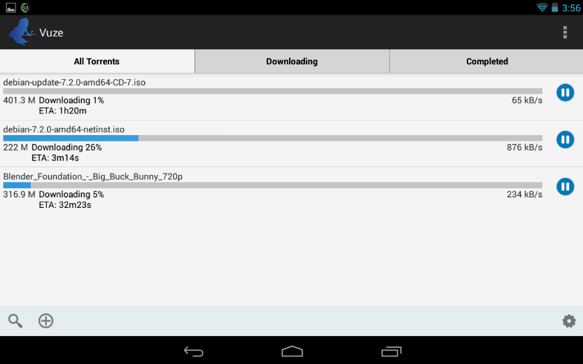 Vuze Torrent Downloader Android