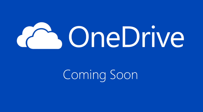 OneDrive is coming soon Microsoft: SkyDrive cambia nome e diventa OneDrive