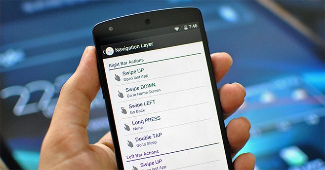 Navigation Layer for Android