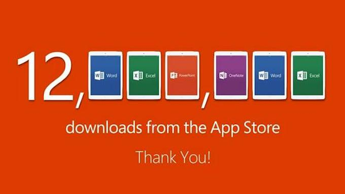 Office per iPad: 12 milioni di download in 7 giorni