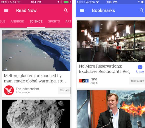 Google Play Newsstand iOS Google rinnova Currents a partire dal nome: Google Play Newsstand aggiunge anche nuove funzionalità