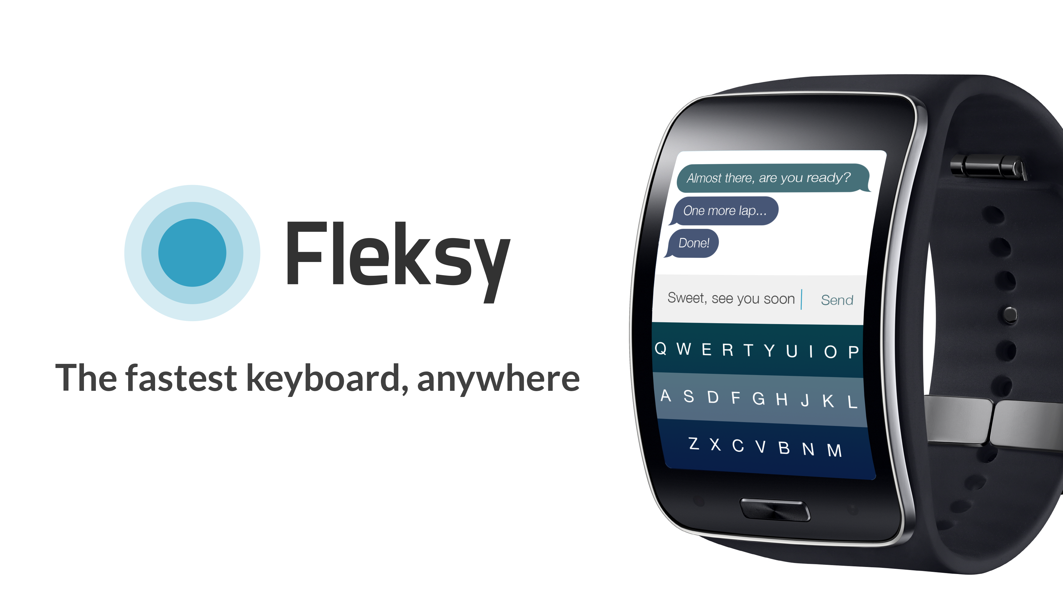 Fleksy tastiera wearable