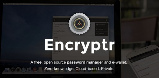 encryptr password manager