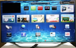 No privacy Smart TV
