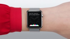Siri sull'apple watch