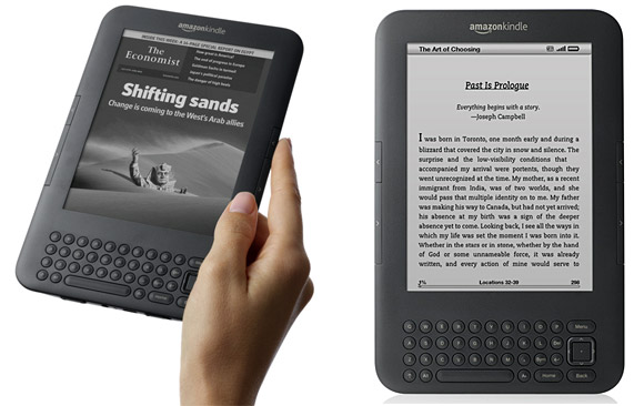 Amazon Kindle batteria