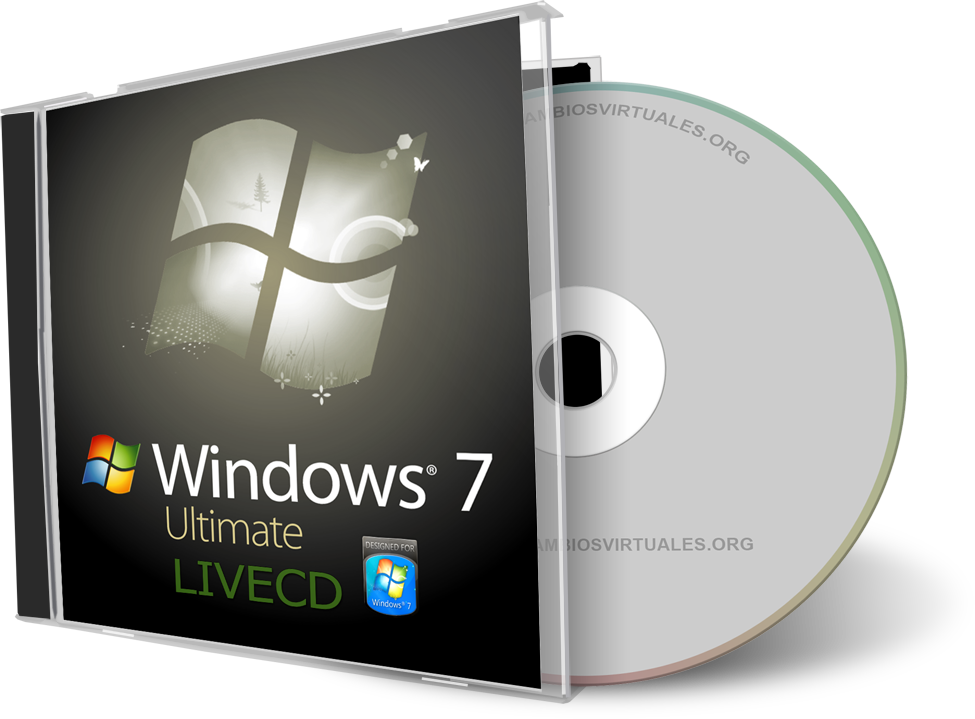 Windows 7 Live CD en Español (2010)