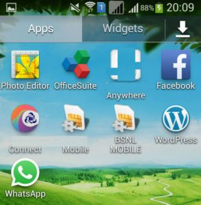 Come visualizzare app nascoste su Android