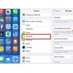 Come disabilitare iMessage su iPad