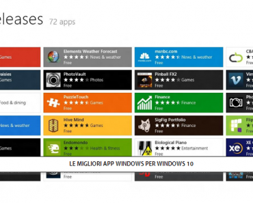 LE MIGLIORI APP WINDOWS 10