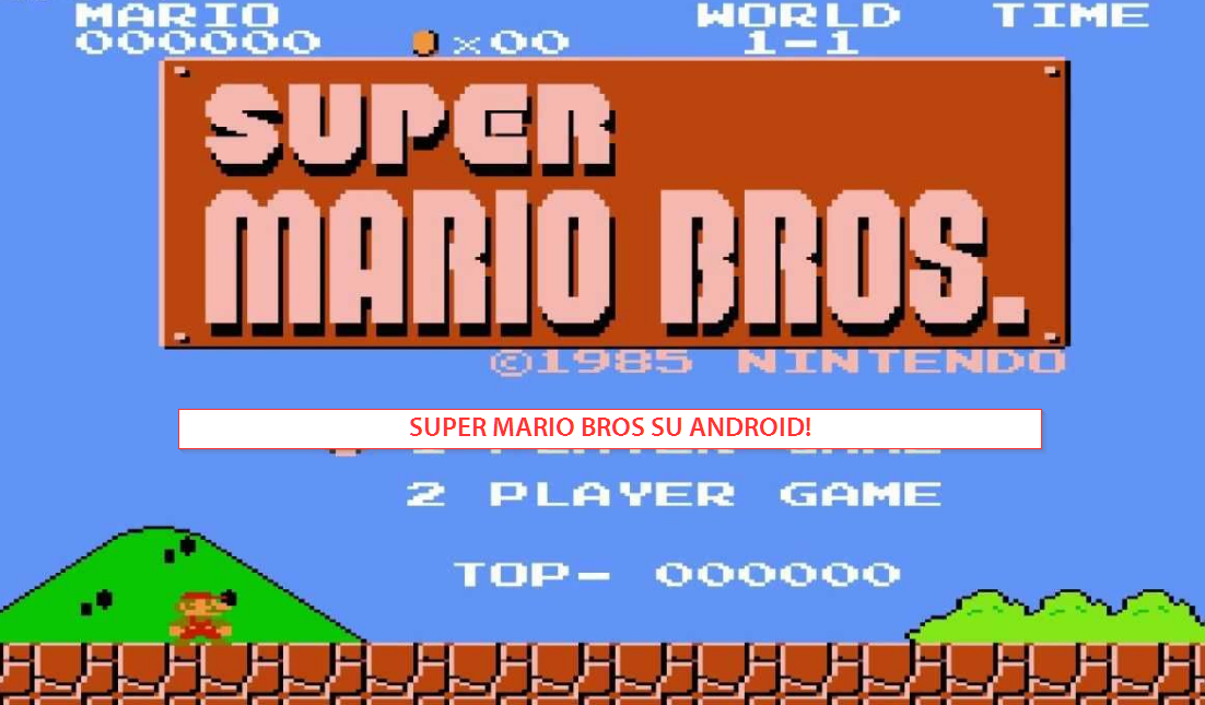 Super Mario su Android