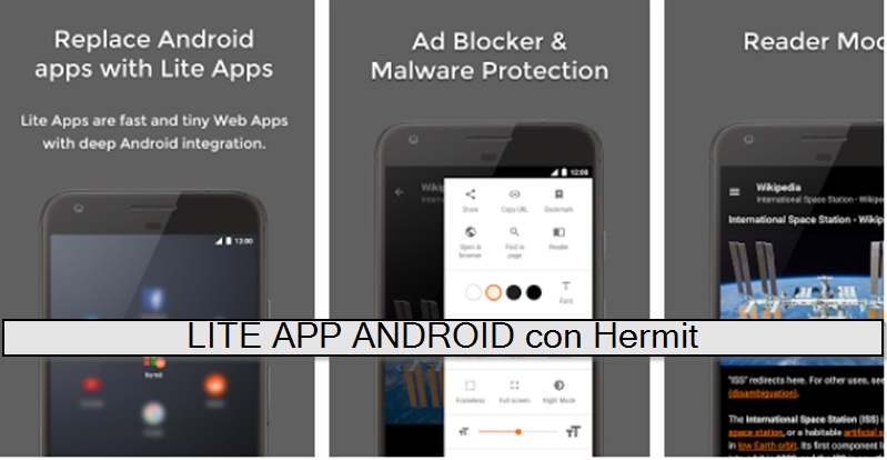 Lite app android
