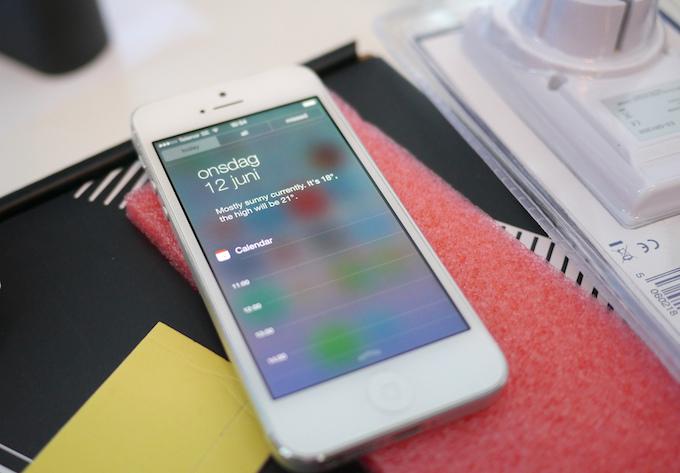 Apple, rilevati processi sospetti in iOS 7