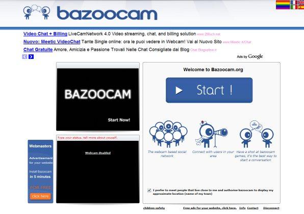 Chatroulette Bazoocam