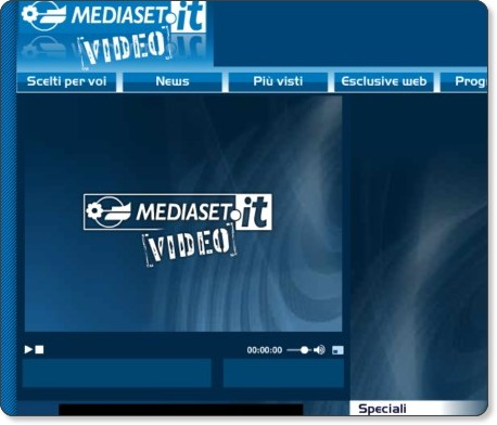 Rivedere Programmi Mediaset