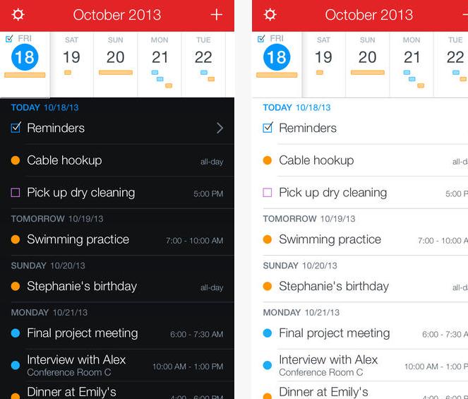 Fantastical 2 calendario app iOS