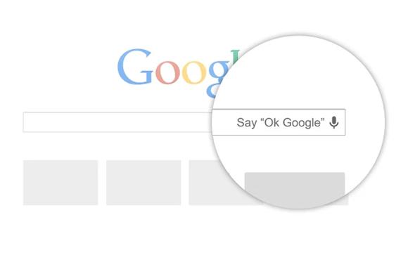 ok google Chrome browser