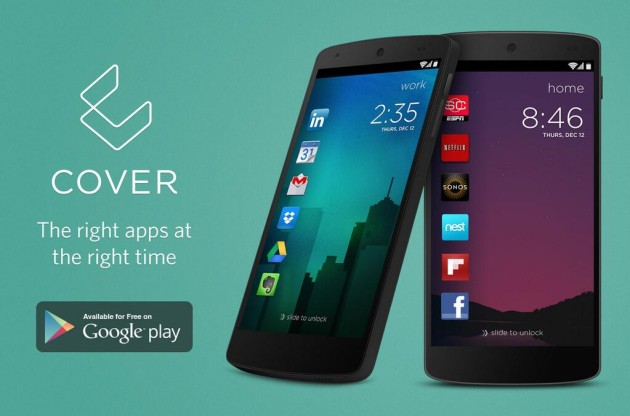 Cover lock screen app Android