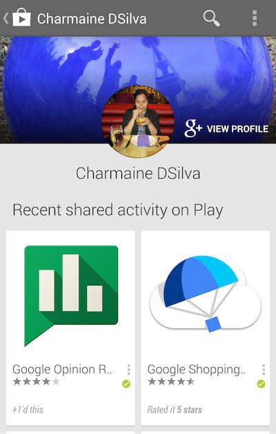 Google Play Store, consigli dagli amici grazie a Google+