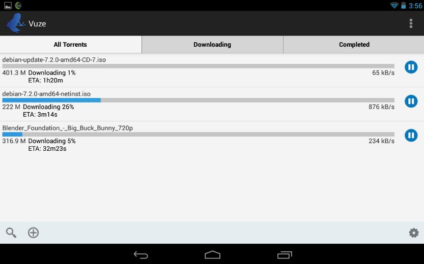 Vuze Torrent Downloader Android