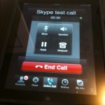 Come telefonare con l'iPad