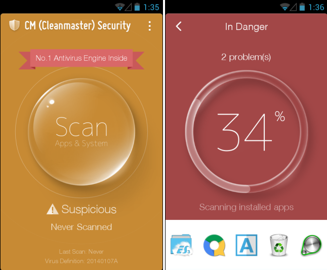 CM Security Android