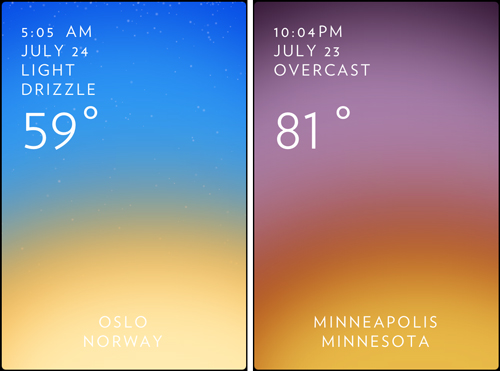 solar weather app Android