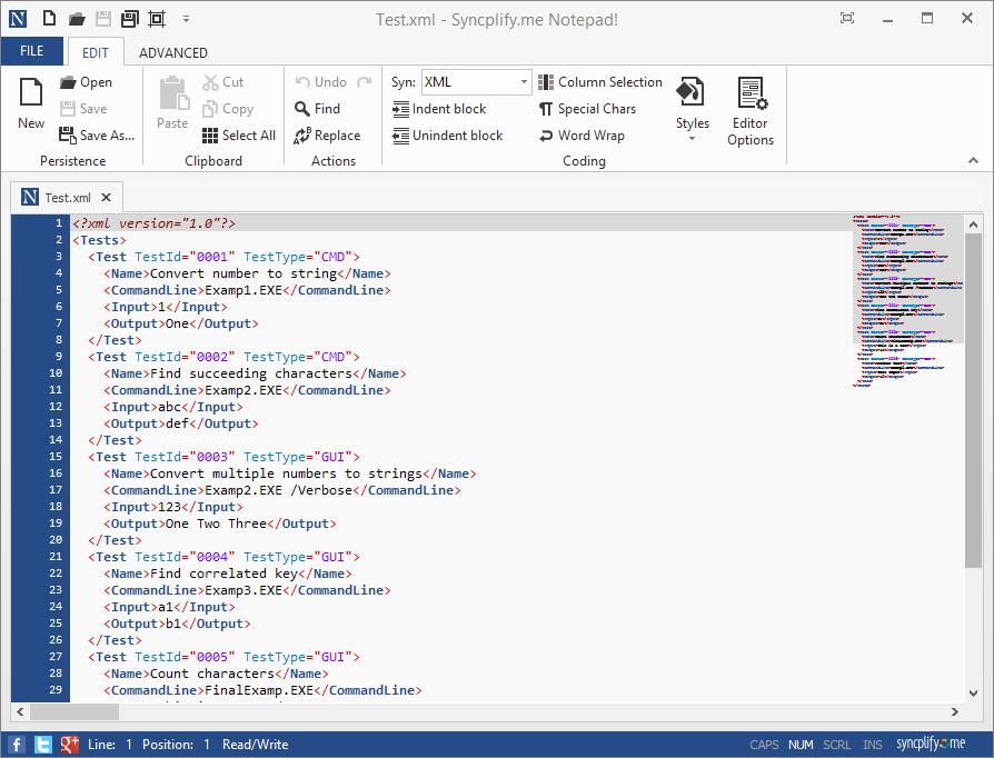 syncplify.me notepad