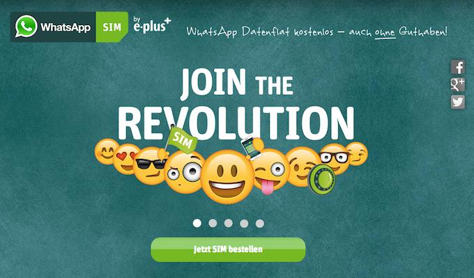 WhatsApp lancia sua SIM con inclusi i suoi servizi illimitati
