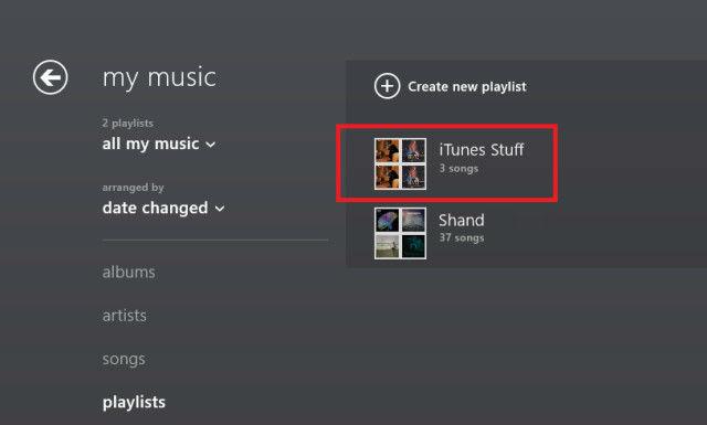music itunes playlist