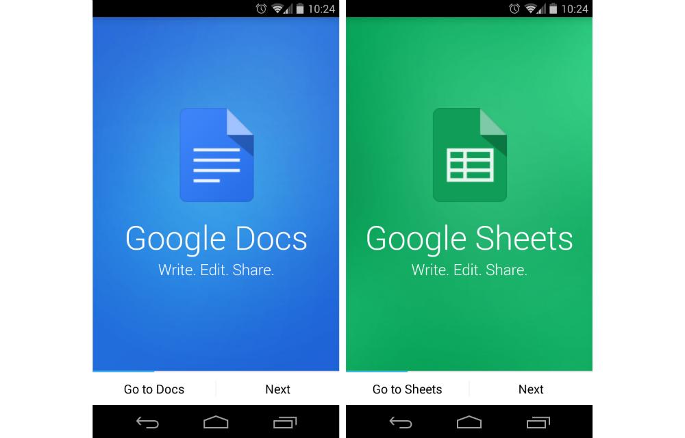 Google Documenti Fogli Google stand alone