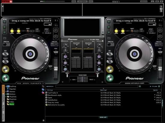 Software DJ Mixer