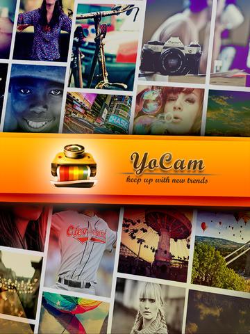 YoCam aggiunge tantissimi filtri e lenti alle foto scattate con l'iPhone