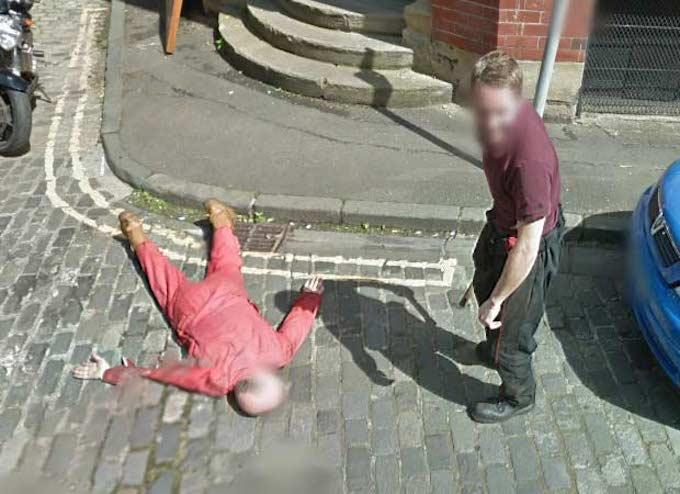 Omicidio su Google Street View, si trattava di uno scherzo