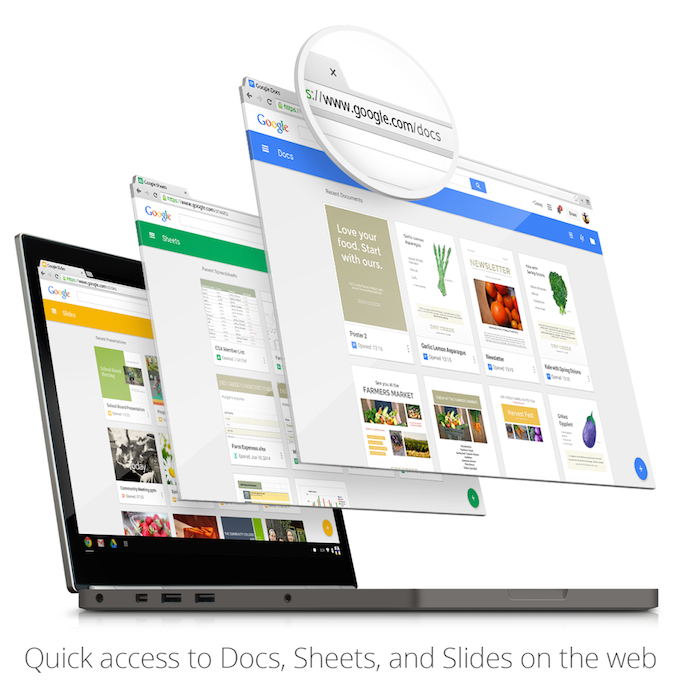 Google Docs nuova interfaccia stile Material Design