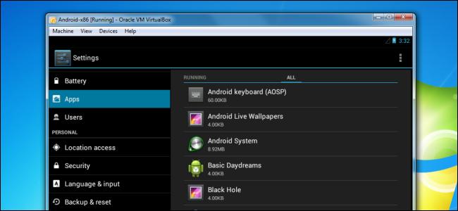 Android virtuale su Pc