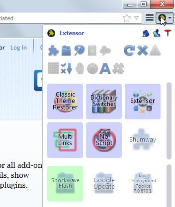 Extensor Firefox