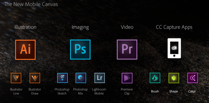 Adobe Creative Cloud mobile