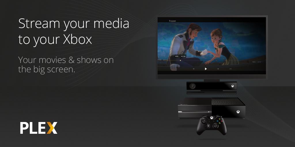 Plex on Xbox