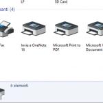 modificare stampante predefinita