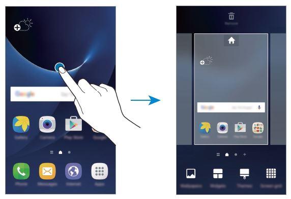 Come ordinare le applicazioni sulla Home su Galaxy S7 e S7 Edge