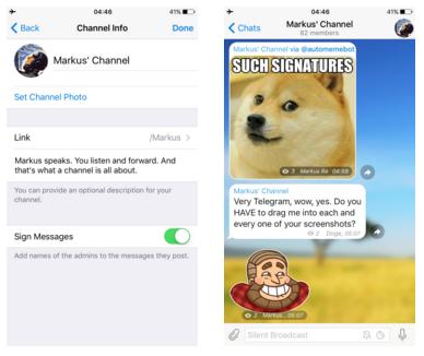 Come entrare nei channel Telegram