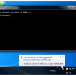 Come programmare spegnimento su Windows 7